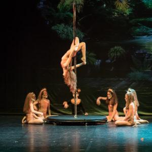 , Pole Dance/cerchio/tessuti aerei/ Kids