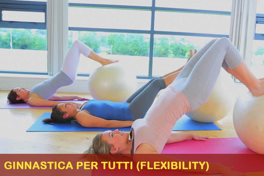 , Ginnastica per tutti (flexibility)
